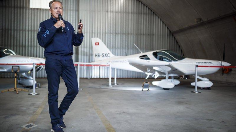Ancien de Solar Impulse, André Borschberg lance un petit avion électrique destiné à la formation des pilotes