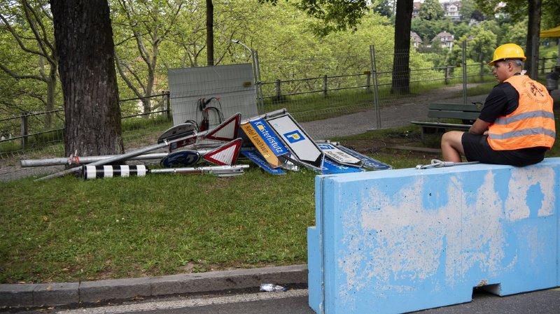 Des actes de vandalisme ont frappé les organisateurs du Grand Prix de Formule E à Berne. (Illustration)
