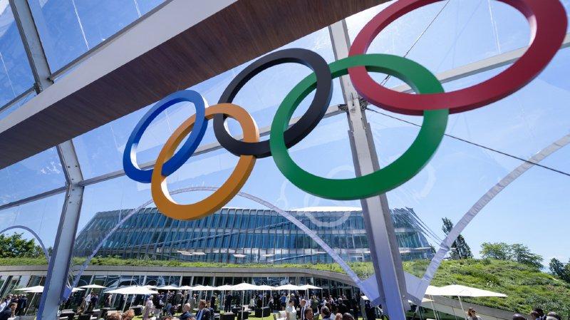 Le bâtiment de Vidy a été inauguré dimanche à l'occasion de la Journée olympique et du 125e anniversaire de la création du CIO.