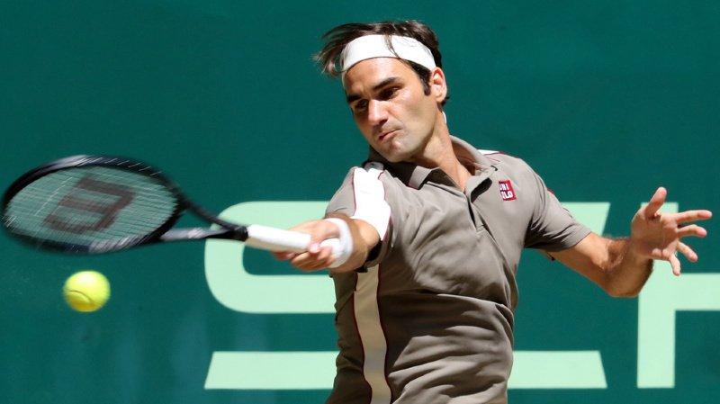 Tennis: Roger Federer remporte le tournoi de Halle pour la 10e fois de sa carrière