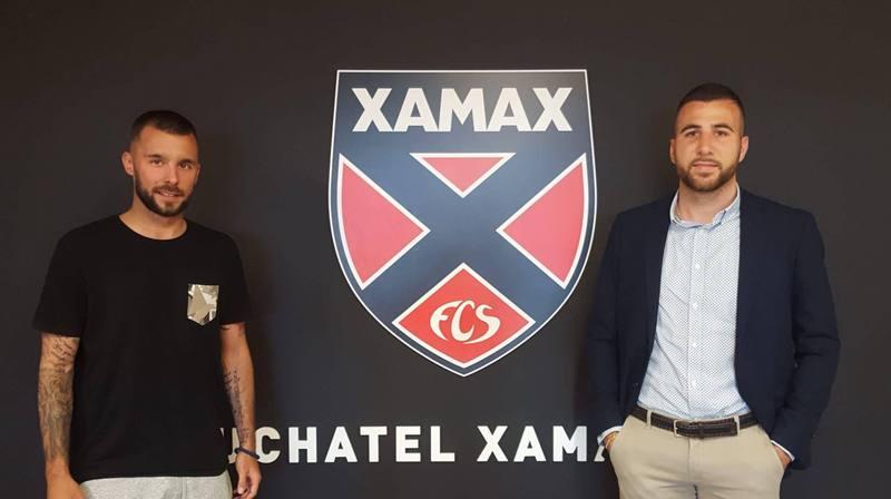 Igor Djuric resigne pour deux ans avec Neuchâtel Xamax FCS