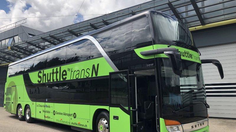 La nouvelle navette de TransN.