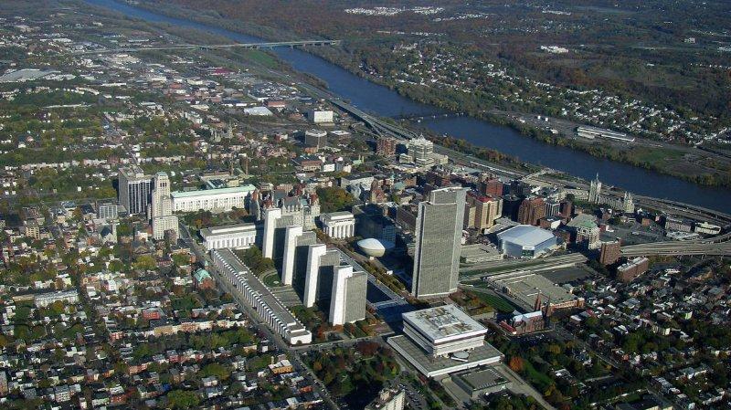 Albany, capitale de l'Etat de New York.