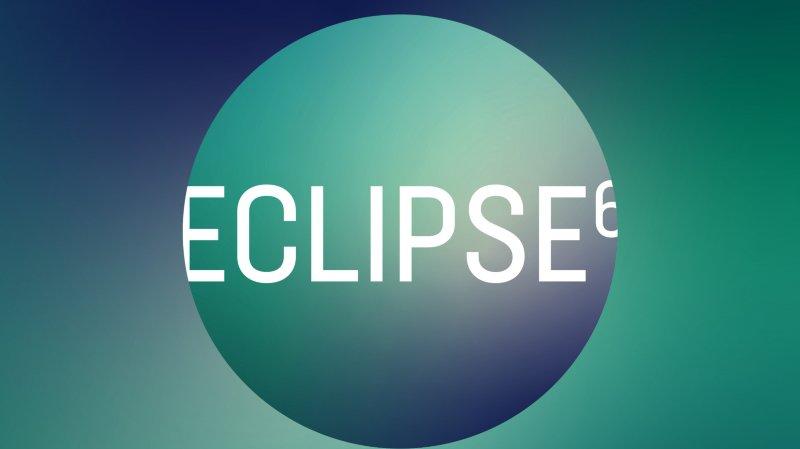 Eclipse6 et feu d'artifice