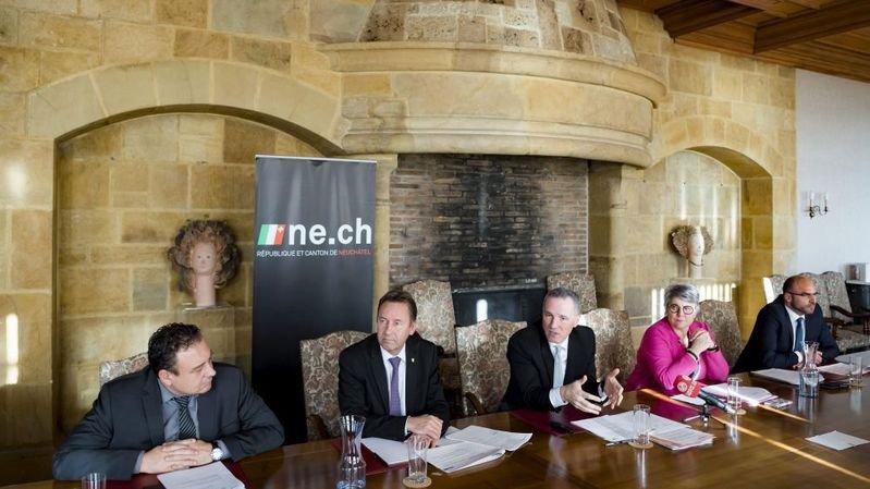 Le Conseil d'Etat neuchâtelois a présenté son programme d'impulsion en décembre dernier.