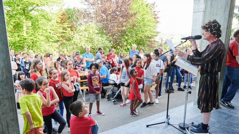 La Chaux-de-Fonds: le collège des Endroits fête un demi-siècle