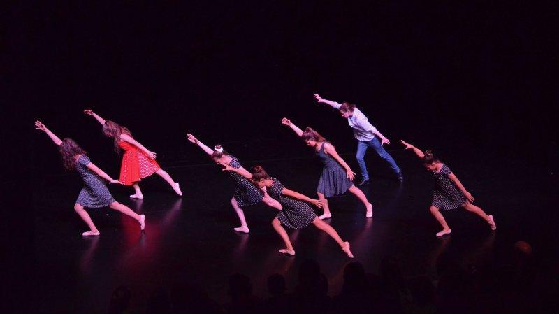 L'un des spectacles des Estivales. Photo: Myriam Houlmann.