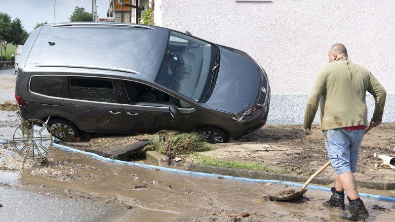 Val-de-Ruz: où en est-on quatre jours après l'orage?