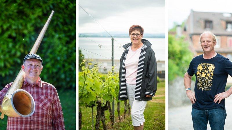 Trois Neuchâtelois au coeur de la Fête des vignerons