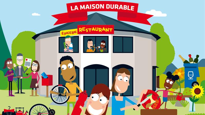 """Neuchâtel: une """"maison durable"""" pour lutter ensemble contre le gaspillage?"""