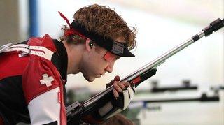 Jeux européens de Minsk - tir: 2e médaille d'or suisse avec Nina Christen et Jan Lochbihler au 50 m tir couché