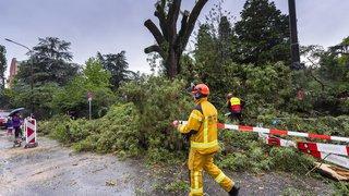 Genève: Un orage très violent s'est abattu sur le canton