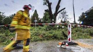Genève: après l'orage, les pompiers ont procédé à plus de 500 interventions dans la nuit
