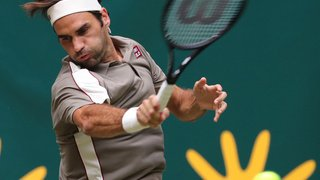 Tennis – Tournoi de Halle: Federer se fait peur mais bat finalement Tsonga