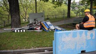 Berne: 400'000 francs de dégâts matériels estimés avant le Grand Prix de Formule E