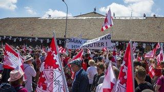 Le Jura fête son 40e anniversaire à Saignelégier, presque tous les cantons suisses présents