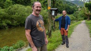 Le cantonnier Michel Jaquet s'est occupé des gorges de l'Areuse pendant 41 ans