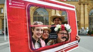 A La Chaux-de-Fonds, le mouvement UP motive les gens à prendre le train