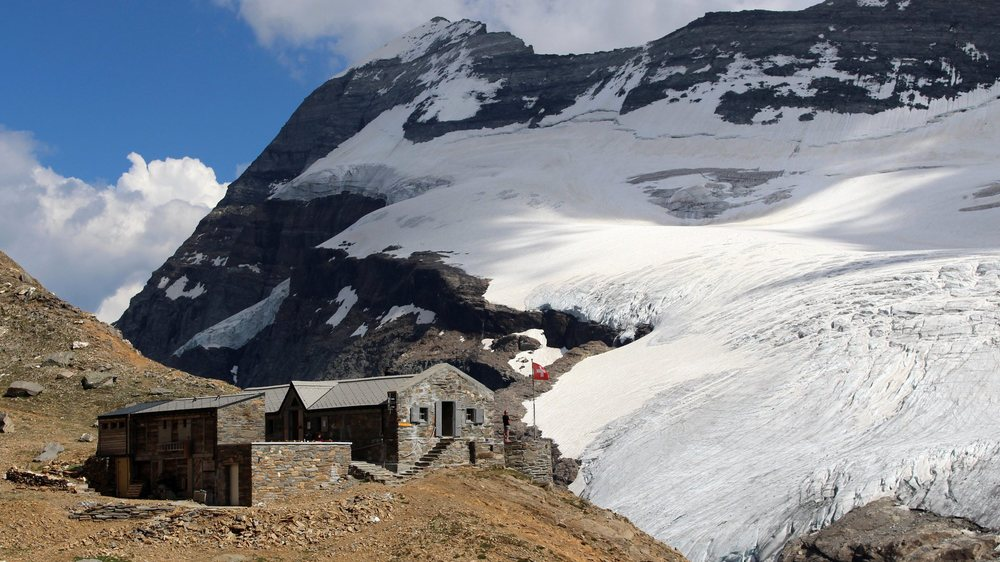 La cabane Monte Leone, un petit coin de paradis.