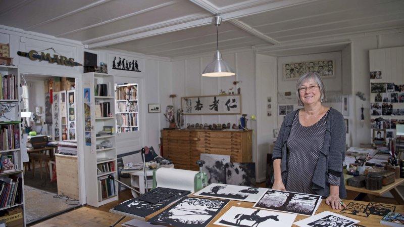 La Chaux-de-Fonds: l'illustratrice Catherine Louis a sauvé ses livres de la faillite