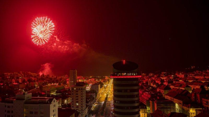 La Chaux-de-Fonds: le feu d'artifice Unesco retardé à cause d'un chauffard ivre