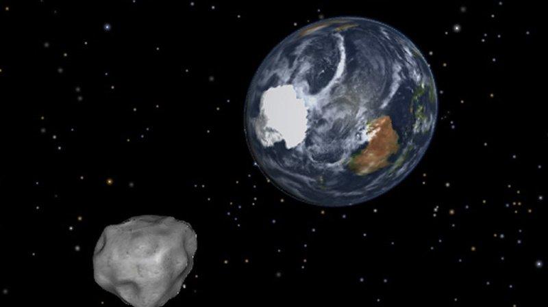 Un astéroïde long comme trois terrains de foot va «frôler» la terre dans la nuit de jeudi à vendredi