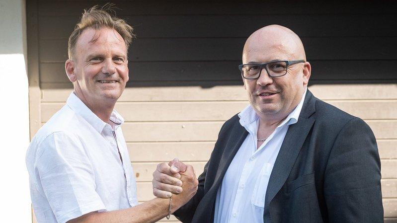 Alain Dubois et Olivier Calame préparent la passation du pouvoir au HCC.