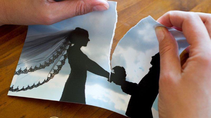 16'500 divorces ont été prononcés en 2018 en Suisse. (Illustration)