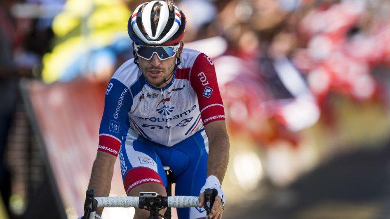 Sébastien Reichenbach sera bel et bien au départ du Tour de France le 6 juillet à Bruxelles.