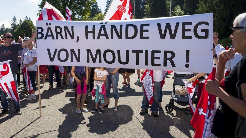 La question de Moutier s'est sans surprise invitée lors des festivités pour le 40e anniversaire du canton du Jura dimanche à Saignelégier.