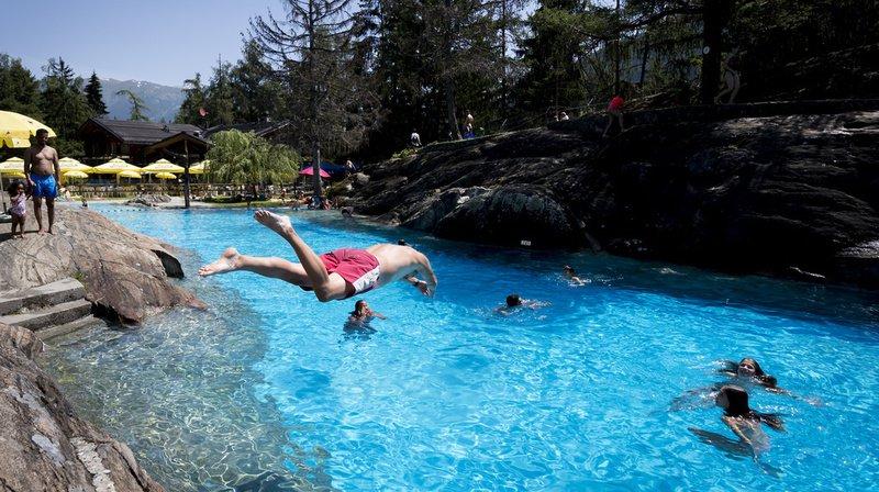 Canicule: degré d'alerte relevé, températures records en montagne et 35,8°C à Sion (VS)