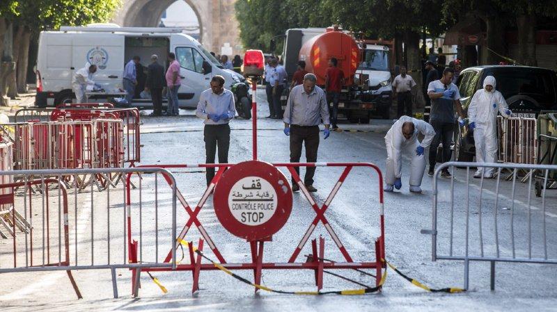 Tunisie: un double attentat fait un mort et huit blessés à Tunis, l'EI revendique
