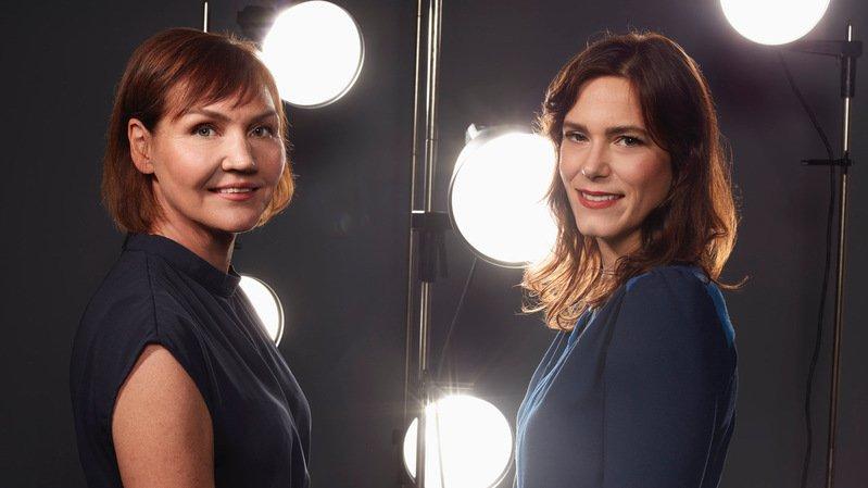 Nathalie Randin (à gauche), future présidente du NIFFF, et Anaïs Emery, directrice générale.