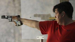 Jeux européens de Minsk: quatrième médaille suisse grâce à Diethelm Gerber au pistolet 25 m