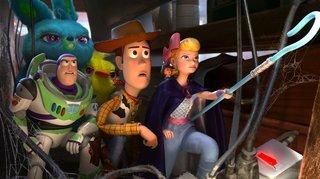 Les jouets un brin déjoués par Pixar