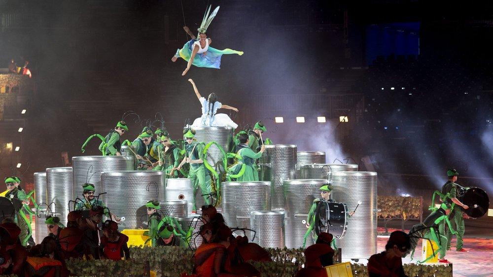 Monumental, le spectacle de la Fête des vignerons s'annonce comme une parenthèse onirique hors du temps servie par un écrin technologique.