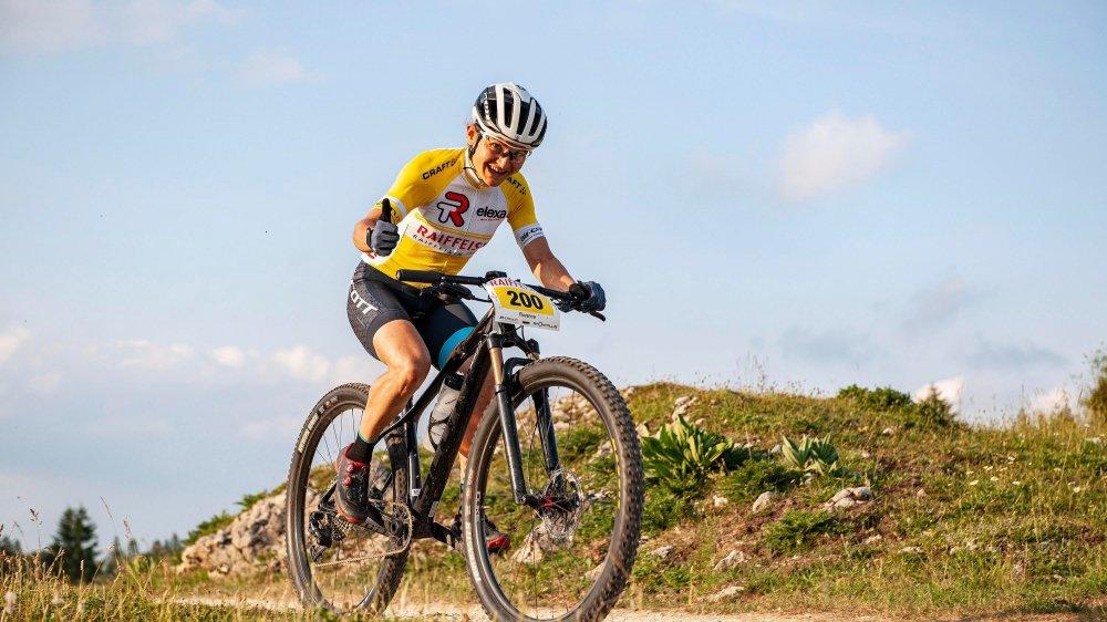 Florence Darbellay a remporté sa huitième Raiffeisen Trans. Avec toujours le même plaisir.