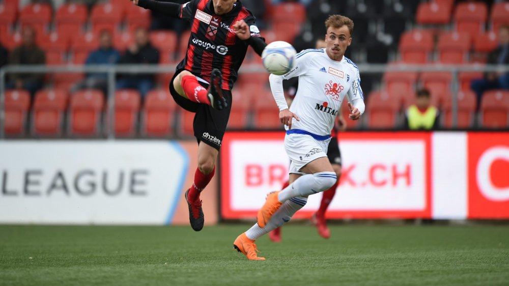 Taulant Seferi (en blanc, sous le maillot de Wohlen) et Arbenit Xhemajli sont désormais coéquipiers.