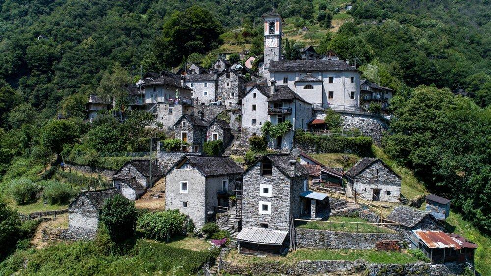 La commune de Corippo, au Tessin, veut transformer une partie de son centre historique en hôtel «diffus».