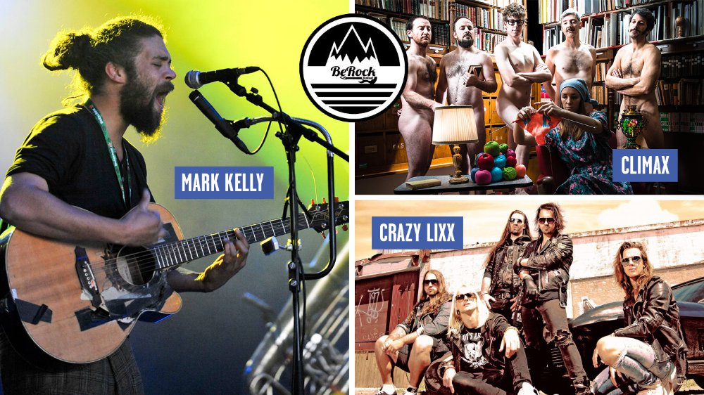 Mark Kelly, Climax ou encore Crazy Lixx font partie de la programmation cette année.