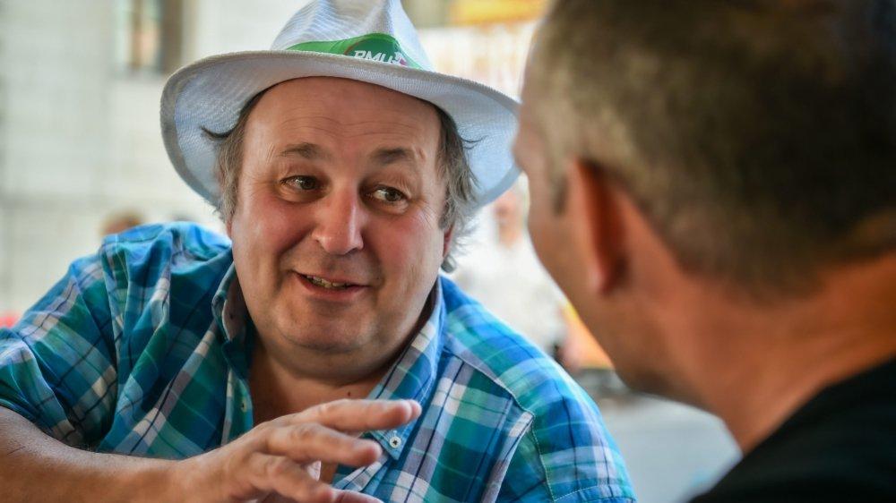 Le président du Music Festival Promo, Bernard Gafner, tire sa révérence.