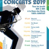 Bouveret Estival - Concerts à la rose des vents