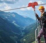 Tyrolienne AlpinLine à la Grande-Dixence