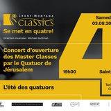 Concert d'ouverture des MC de Quatuor à cordes