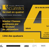 Master Classes de Quatuor à cordes de CMClassics