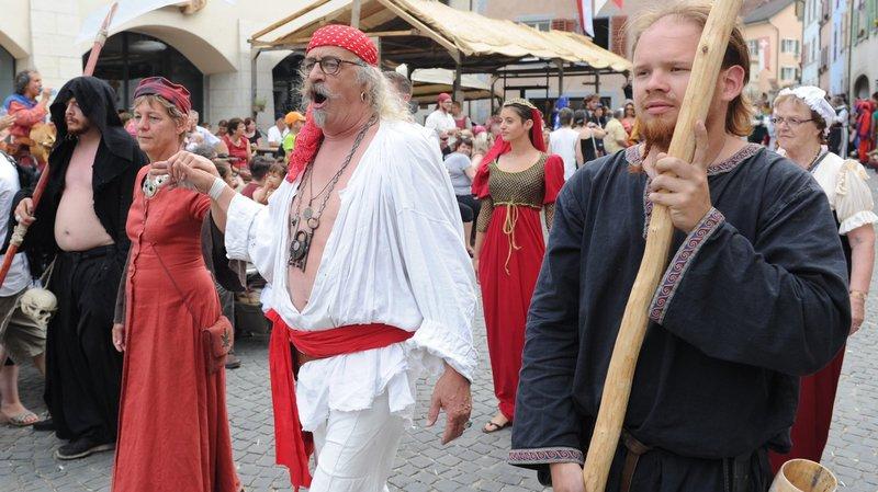 Les Médiévales de Saint-Ursanne pour le plaisir de remonter le temps