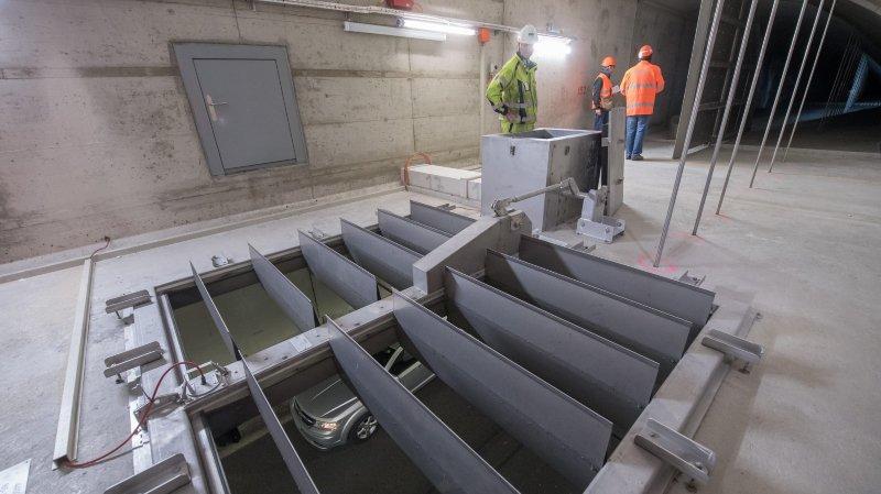 Le système d'extraction des fumées dans les tunnels sous Neuchâtel a été mis à contribution, samedi en fin d'après-midi.