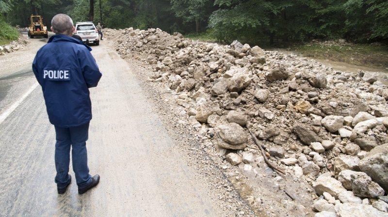 Cinq millions pour la route Villiers-Le Pâquier et le ruz-Chasseran