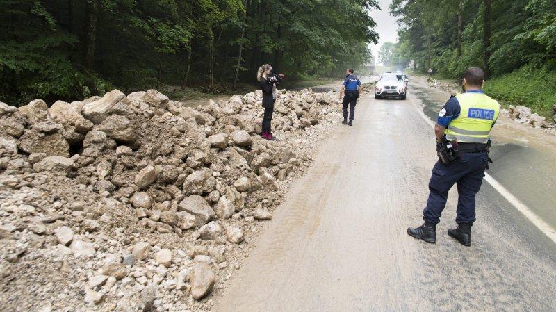 Plusieurs routes interdites au transit au Val-de-Ruz