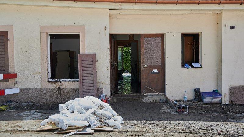 Des habitants de Dombresson, Villiers et Le Pâquier ont tout perdu lors des violents orages du 21 juin dernier.